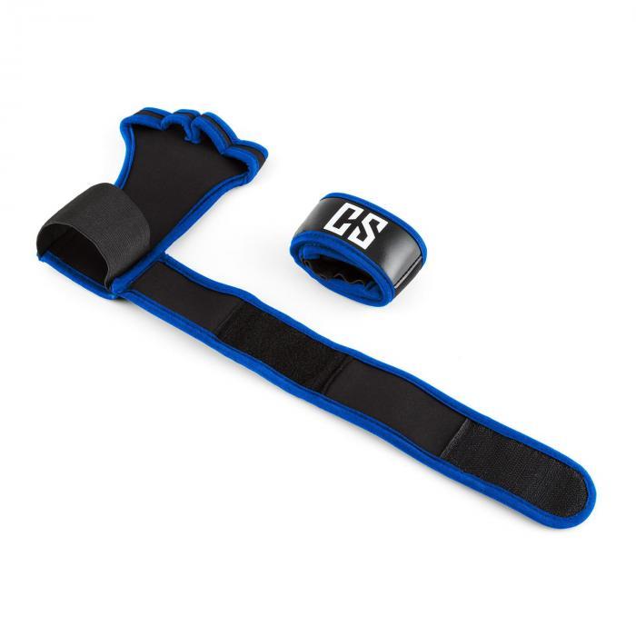 Palm Pro painonnostokäsine koko L musta/sininen