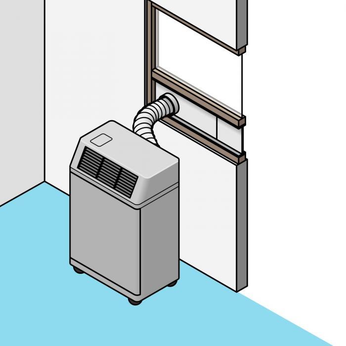 Guarnizione per finestra per climatizzatori portatili electronic star it - Guarnizione finestra per condizionatore portatile ...
