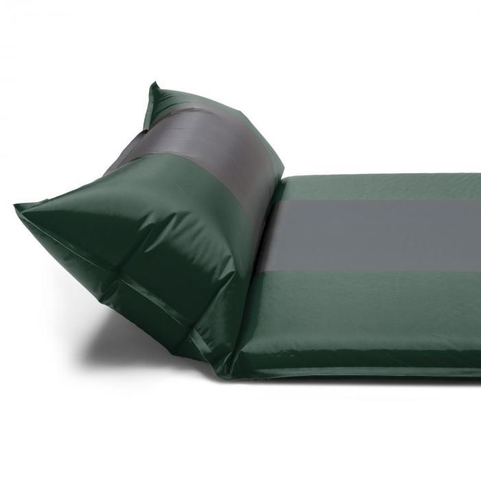 Gooddream 10 Isomatte Luftmatratze 10cm dick selbstaufblasend grün/grau