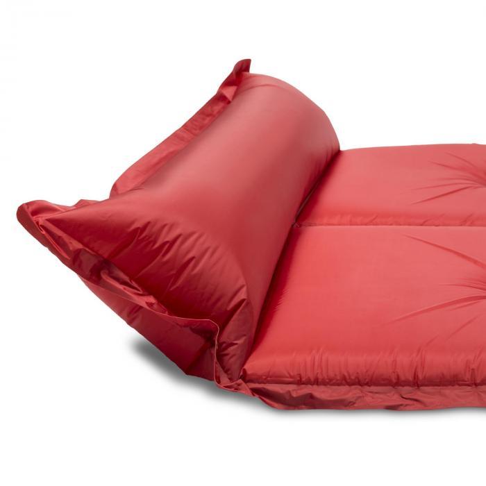 goodbreak 10 isomatte doppel luftmatratze 10cm dick kopfkissen rot online kaufen elektronik. Black Bedroom Furniture Sets. Home Design Ideas