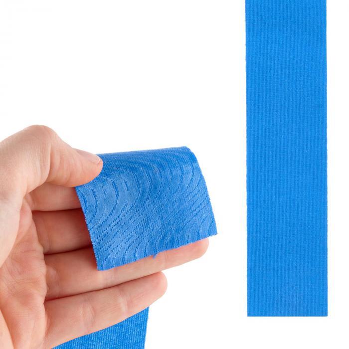 Bondies Nastro Kinesiologico 6 Rotoli Larghi 5 cm Lunghi 5 m Elastico