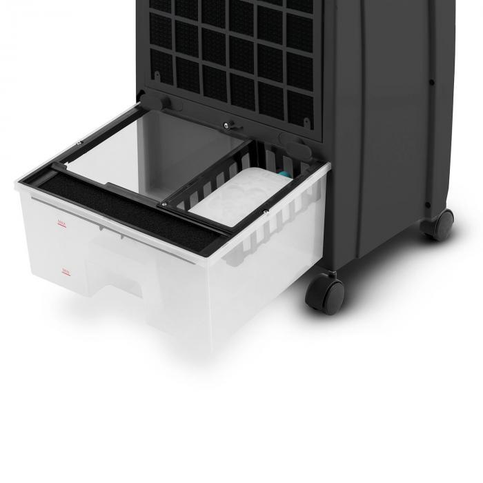 CTR-1 Luchtverfrisser 4-in-1 mobiel airco 65 W afstandsbediening zwart