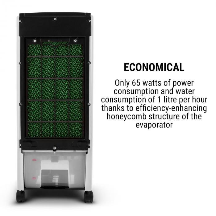 MCH-1 V2 3 in 1 jäähdytyslaite tuuletin ilmankostutin 7 litraa 360 m³/h
