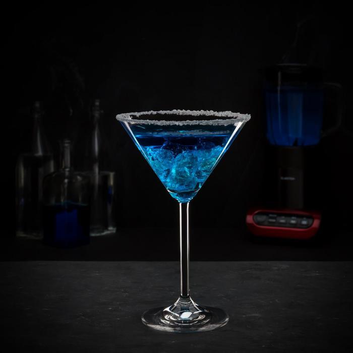 Lambada Licuadora 650W vaso de vidrio de 1,5 l negro