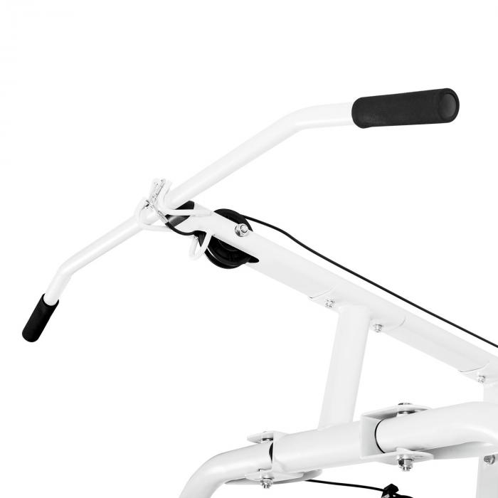 Ultimate Gym 5000 monitoimintoinen kuntoilulaite valkoinen