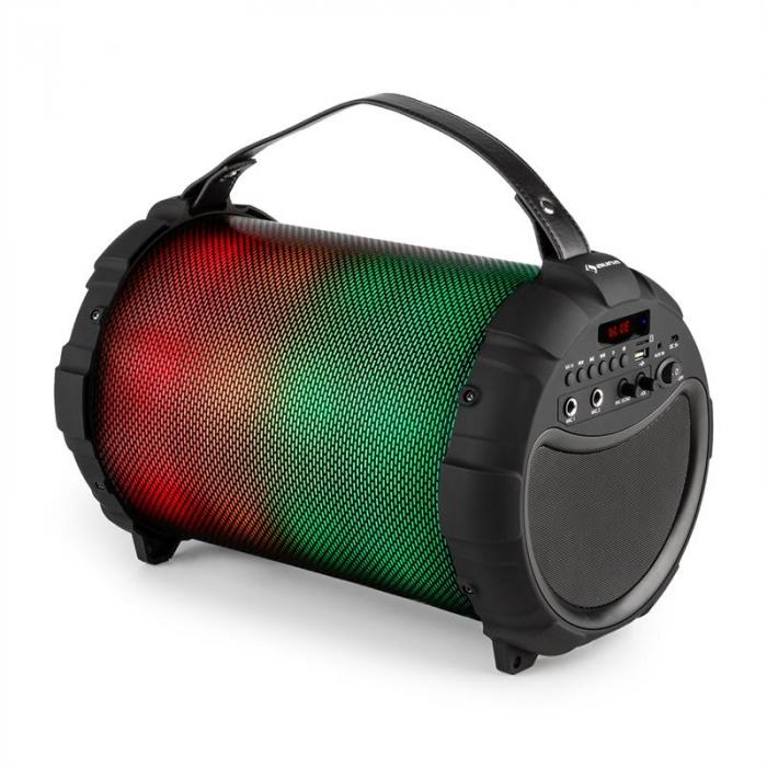 Dr. Bang LED Altoparlante Bluetooth Batteria LED USB SD MP3 40W max. FM