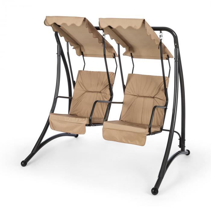 skywalker hollywoodschaukel gartenschaukel 180 cm 2 sitze sonnendach online kaufen. Black Bedroom Furniture Sets. Home Design Ideas