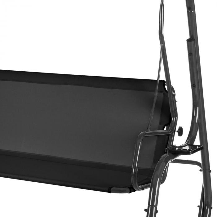 High Society Hollywoodriippukeinu pihariippukeinu 220 cm harmaa