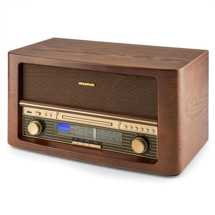 Belle Epoque 1906 Impianto Stereo Retrò CD USB MP3 AUX VHF/MW