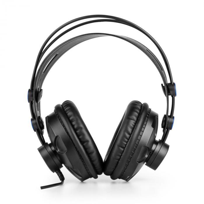 Auna MIC-920B USB mikrofonisetti V3 studiokuulokkeet kondensaattorimikrofoni mikrofoniteline