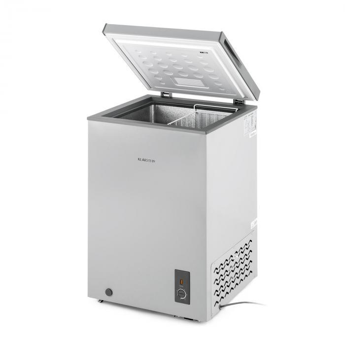 Iceblokk Congelatore A Pozzetto Freezer 100 l 75 W A+ Grigio
