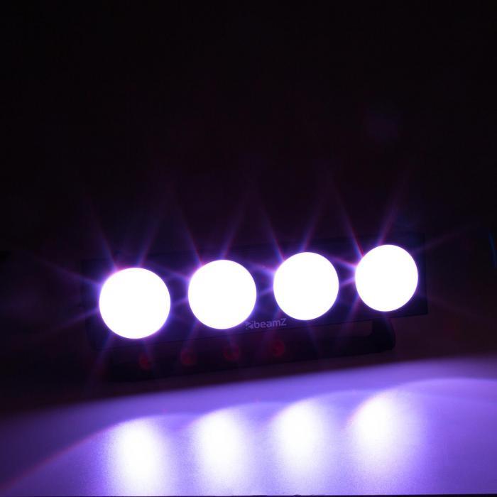 LUCID 1.4 Effetto Luce LED 4x COB LED RGB 9W