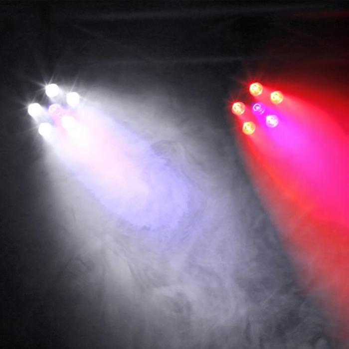 BFP110 FlatPAR Faretto LED 3 in 1 Telecomando DMX IR