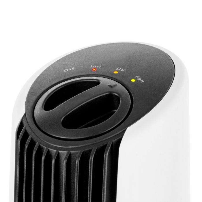 """St. Oberholz XL 3in1 Luftreiniger Ionisator Ozon 18"""" schwarz/weiß"""