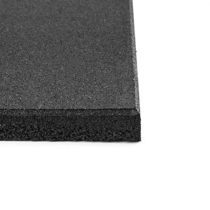 RUB20 4 Colchões P/ Proteção do Chão 50x50cm Borracha maciça Ø2cm