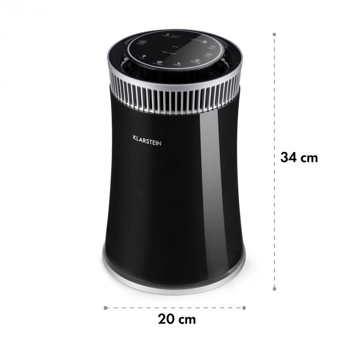 Arosa Depuratore Aria Lampada UV Modalità Automatico/Sospensione Nero