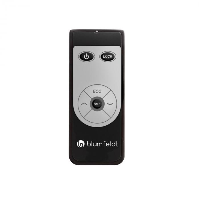 CosmicBeam Ultra Stufa Infrarossi 2200W IPX4 Telecomando Nero