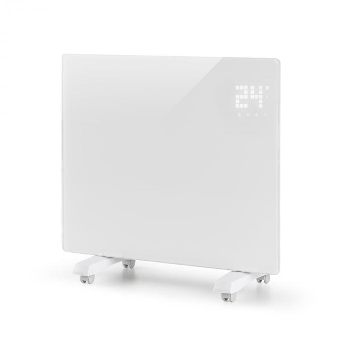 Bornholm Single Riscaldatore a Convezione Termostato Timer 1000W bianco