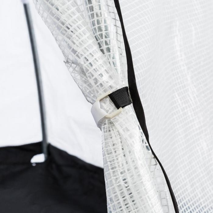Greenshelter L Überwinterungszelt 340x280cm Stahlrohr Ø25mm PVC