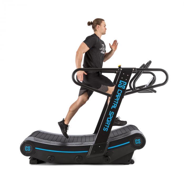 Runatic Curved Treadmill 50x160cm Motorless 6 Braking