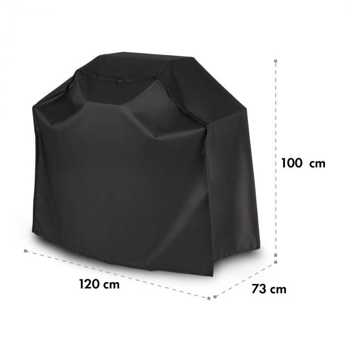 Lucifer 2.0 Cover Wetterschutzhaube 600D Canvas 30/70% PE/PVC schwarz