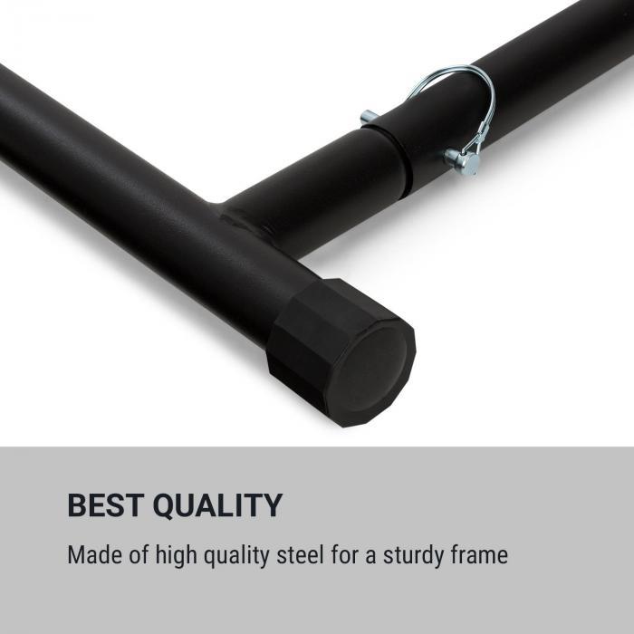 T-Trix leuanvetoteline MultiGym-konsepti 100 kg max. kantokassi musta