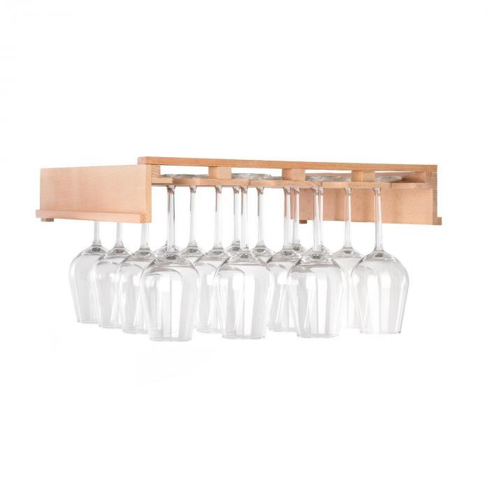 Barossa 102 Duo Set Frigo per Vini 2 Zone 102 Bottiglie Ripiano per Calici