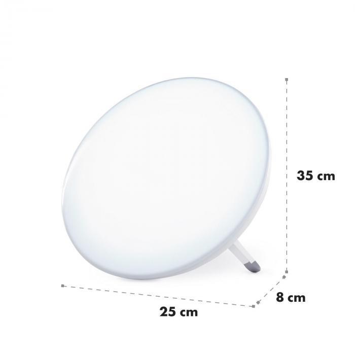 Wintersun Lampada diurna, 10.000 Lux, luce: 6.500 K, esente da UV
