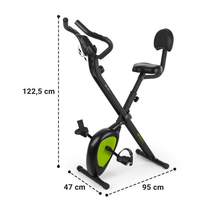 X-Bike XBK700 Pro kuntopyörä ergometri sykemittari taitettava