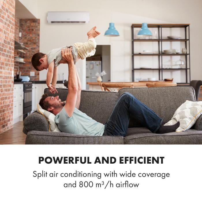 Windwaker Eco Split-Klimaanlage 800 m³/h 18.000 BTU/h (5274W) A++