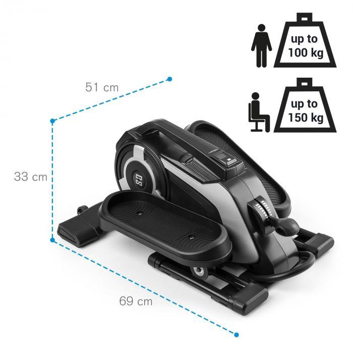 Helix Nano mini Bike Bluetooth app MagResist 8 niveaus
