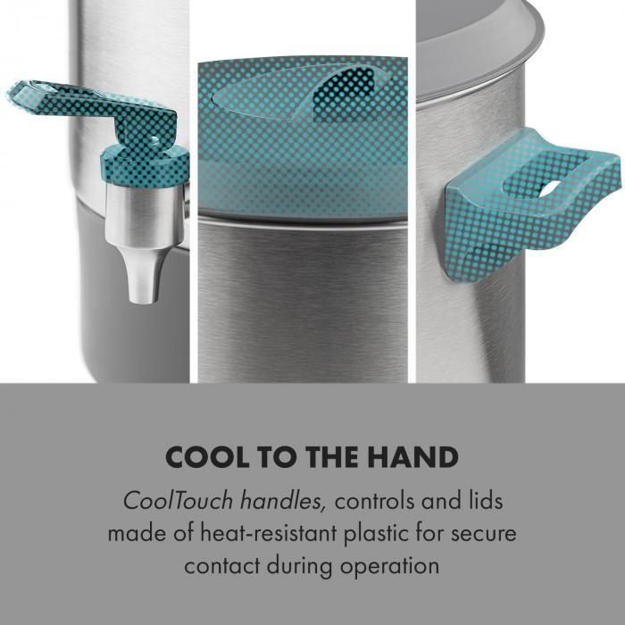 Lady Marmalade -säilöntäautomaatti juoma-annostelija 27 l 100 °C 12 h ruostumaton teräs