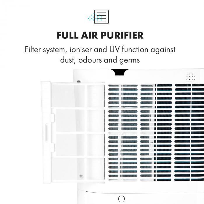 DryFy Pro Connect -ilmankuivain WiFi kompressori 20 l/d 20 m² 370 W valkoinen