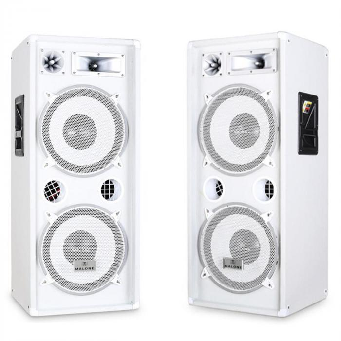 "Equipo PA ""DJ-22"" – altavoces, ampli, micro, 1000W"