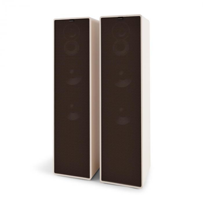 RETROSPECTIVE 1977MKII Altoparlanti Verticali a 3 Vie bianco Cover nero-marrone