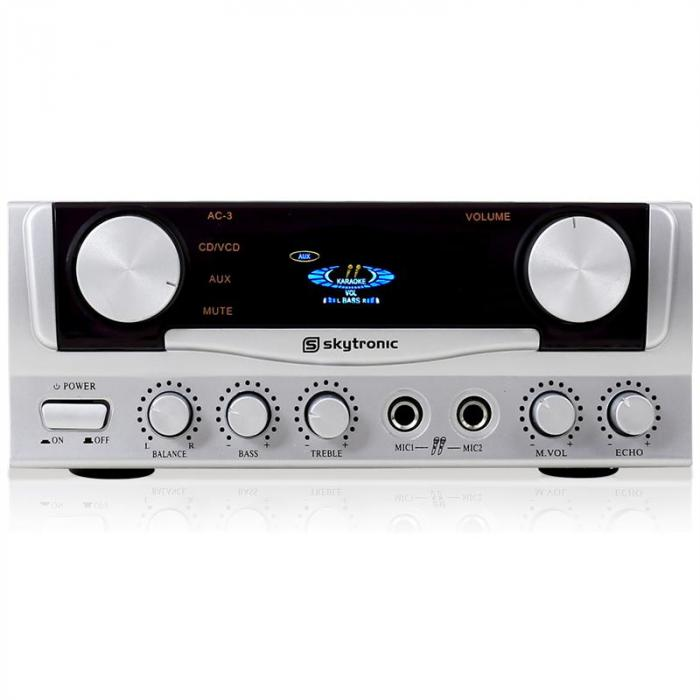 DJ Easy Set Audio 2 microfoni e amplificatore