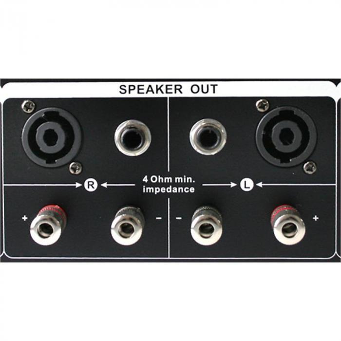 """DJ- PA-setti """"Bass First Pro"""" 2x amp 4x kaiuttimet mikseri"""
