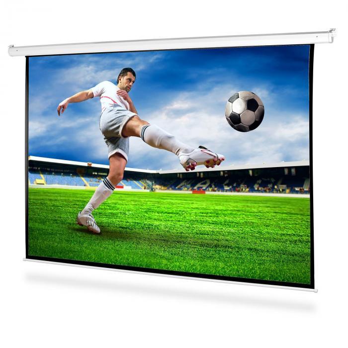 Parete di proiezione a motore 200x150 cm HDTV 4:3