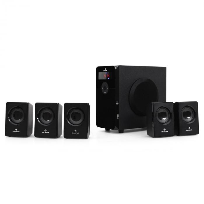 Set altoparlanti 5.1 HF583 con USB-SD-MP3-Radio 5000W