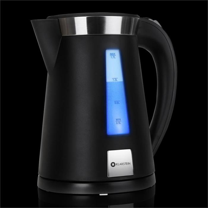 Sunday Morning bollitore nero 2200W 1,7 L