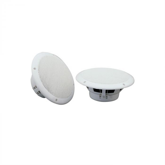 "Speaker Sound Set Amplificatore HiFi per Bagno e Terrazza 5"" 4pz. Impermeabile"