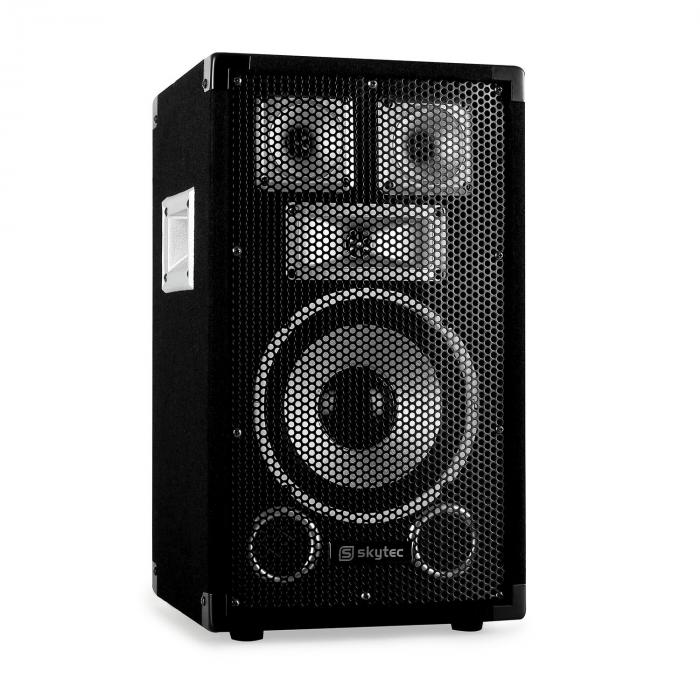 "PA Set Sapphire Series ""Warm Up Party TX8"" Pair 20cm Speakers & Amplifier 800W"