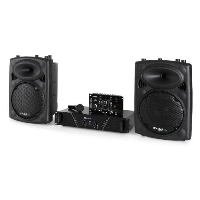 DJ300MK2 Disco Sound Set AUX MIC