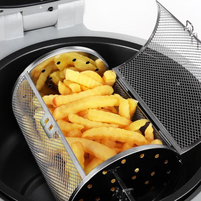 VitAir friggitrice ad aria calda 1400W 9l Grigio-Nero