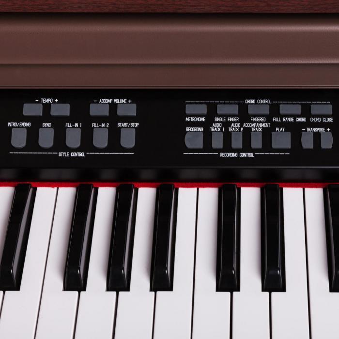 Subi88P2 88-koskettimen sähköpiano MIDI ruskea