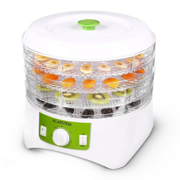 Appleberry kuivuri valko-vihreä 400W 4 kerrosta BPA-Free