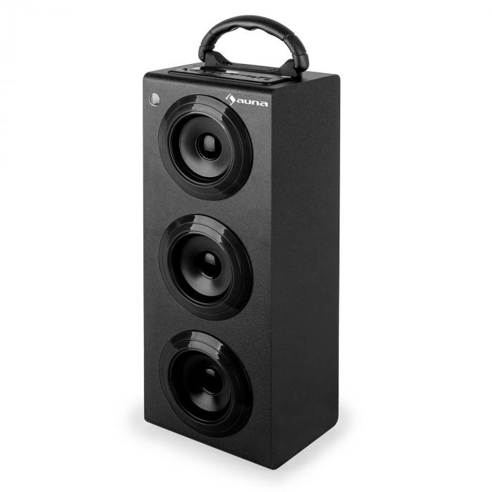 Beachboy XXL Bluetooth Speaker USB SD AUX FM Black