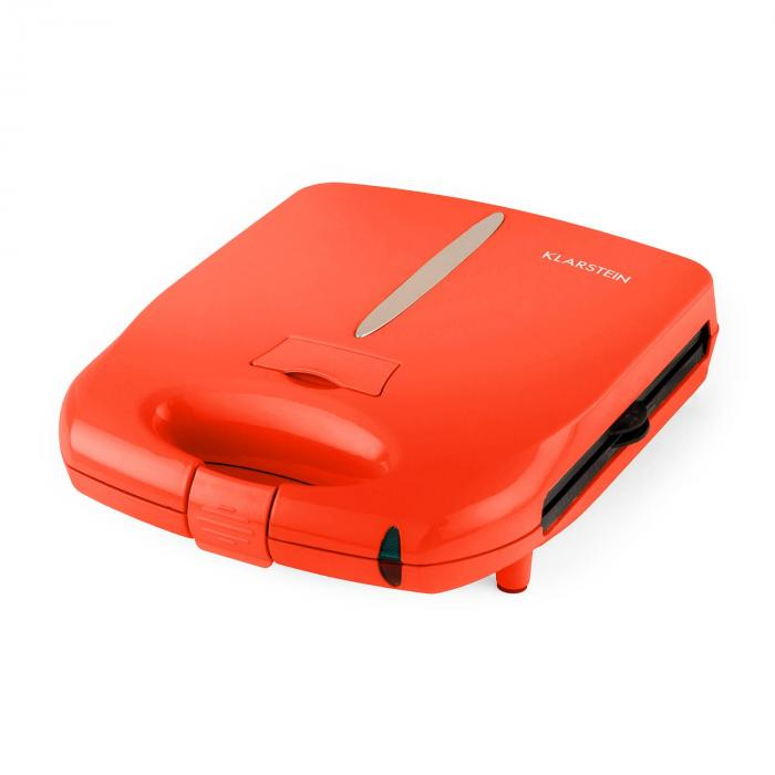 Trinity 3in1 Sandwich Maker XXL 1300 W rot