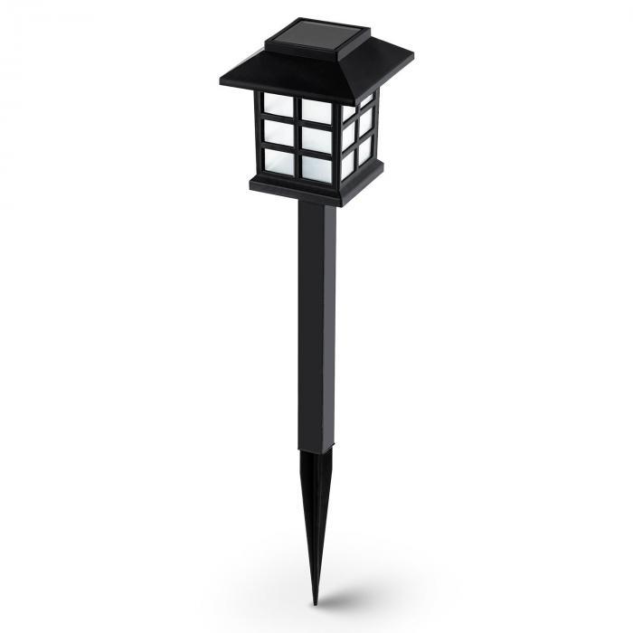 Nagano Lampada Da Giardino Set 6 Pezzi LED Batteria Bianca