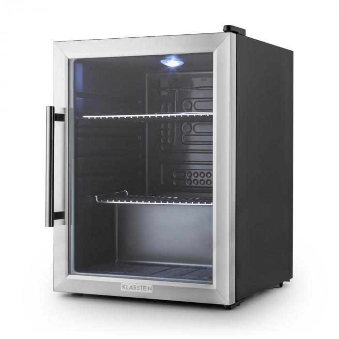 Beersafe XL jääkaappi 60 litraa luokka A++ lasiovi ruostumatonta terästä